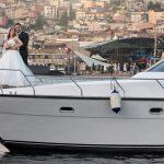 جشن ازدواج روی کشتی استانبول