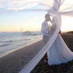 عروسی کنار ساحل