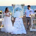 عروسی ساحلی ترکیه