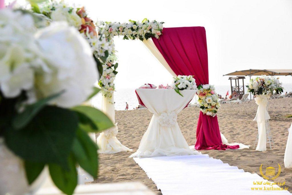 عروسی در آنتالیا