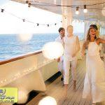 جشن عروسی روی کشتی