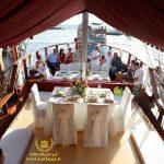 عروسی روی قایق استانبول