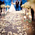 جشن عروسی در آکواریوم