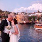 عروسی در ساحل آنتالیا