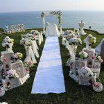 عروسی ساحلی در آنتالیا