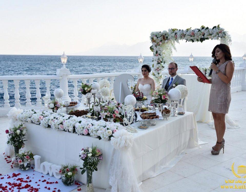 عروسی لوکس کنار ساحل ترکیه