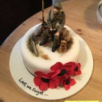 کیک با طرح سرباز