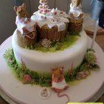 کیک خانه موش ها