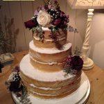 کیک تولد سه طبقه بسیار زیبا