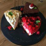 کیک تولد با طرح چند کیک