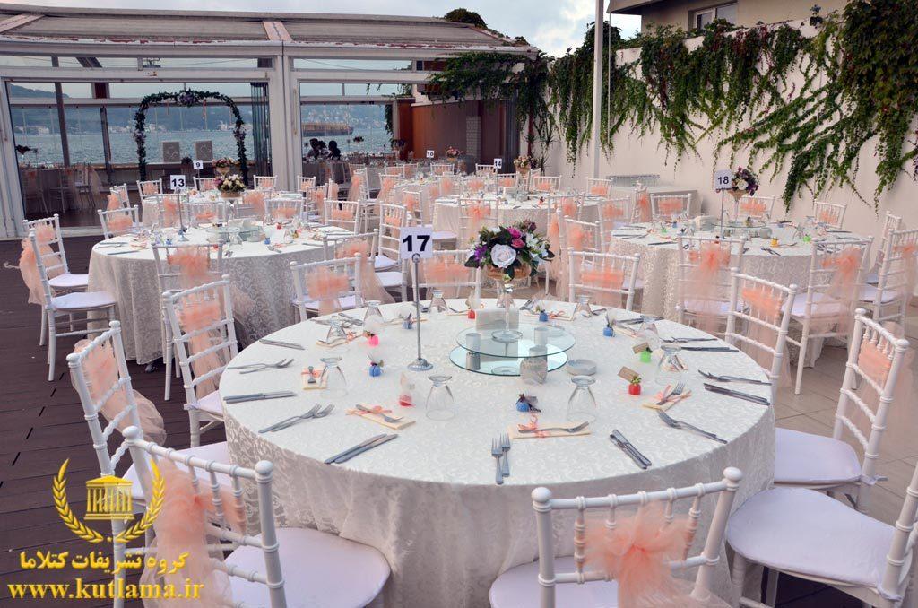 خدمات عروسی استانبول