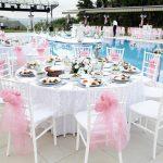 عروسی کنار آب
