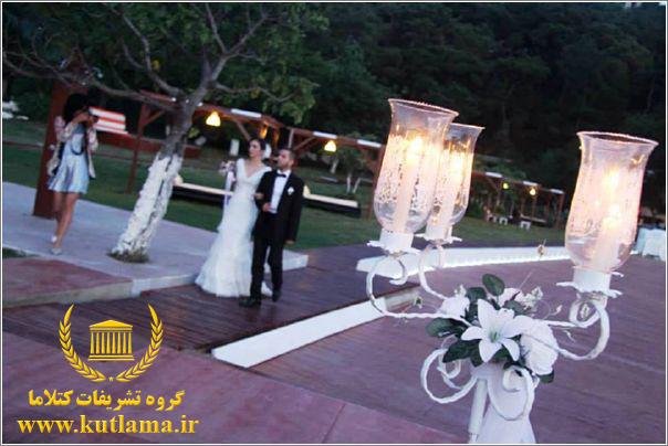 تشریفات عروسی در استانبول ترکیه