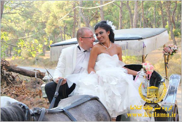 عروسی رویایی در استانبول