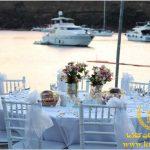 عروسی لب دریا استانبول