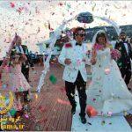 عروسی لوکس در استانبول ترکیه