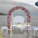 عروسی کنار ساحل استانبول
