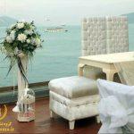 عروسی ساحلی در ترکیه