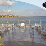 جشن عروسی ساحلی در استانبول