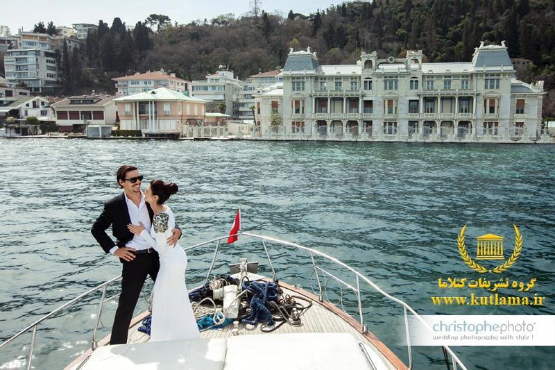 جشن ازدواج روی کشتی