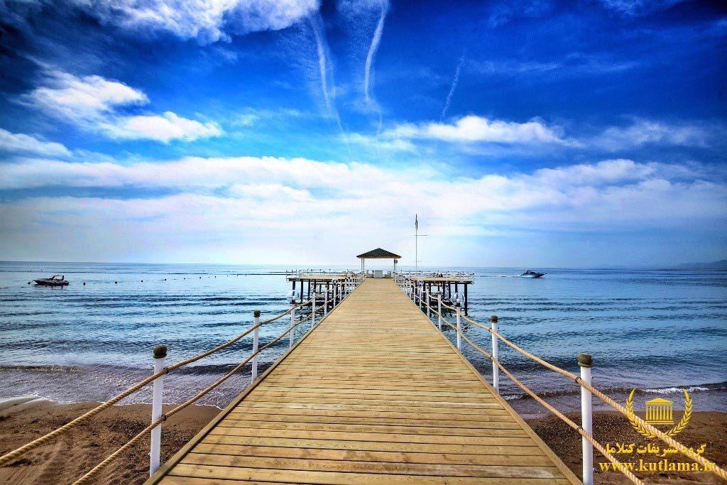 ساحل زیبای رامادا ریزورت آنتالیا
