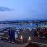 عروسی در ساحل دریای مدیترانه
