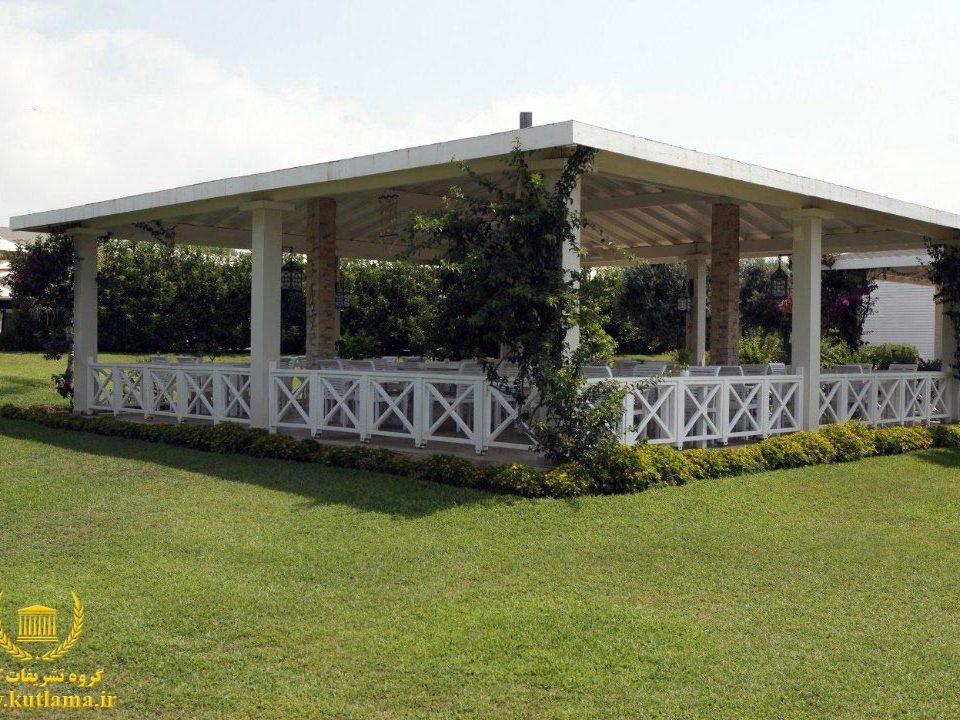 عروسی در باغ هتل آنتالیا ترکیه