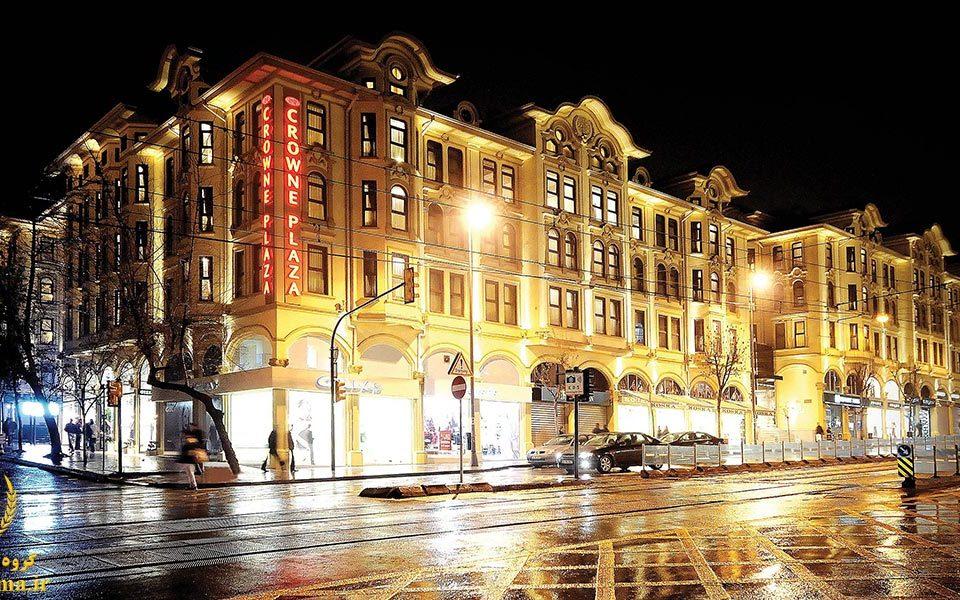 عروسی در هتل کراون پلازا استانبول