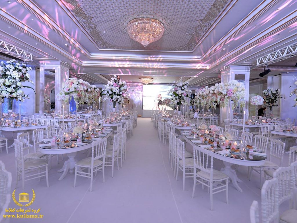 برگزارکننده جشن عروسی در ترکیه