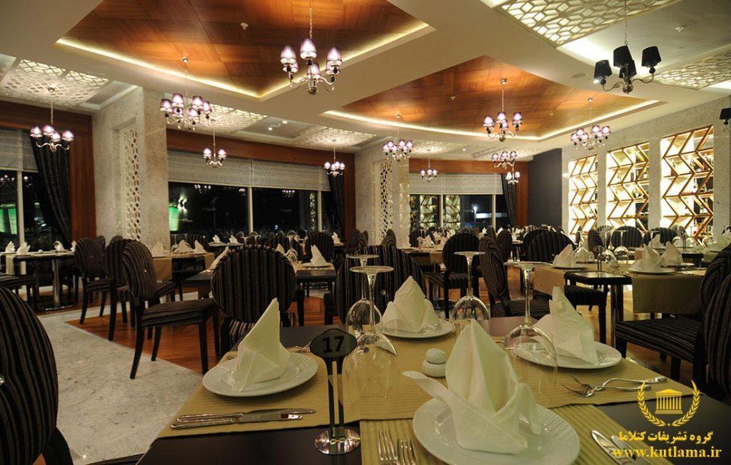 جشن عروسی تالار هتل آنتالیا