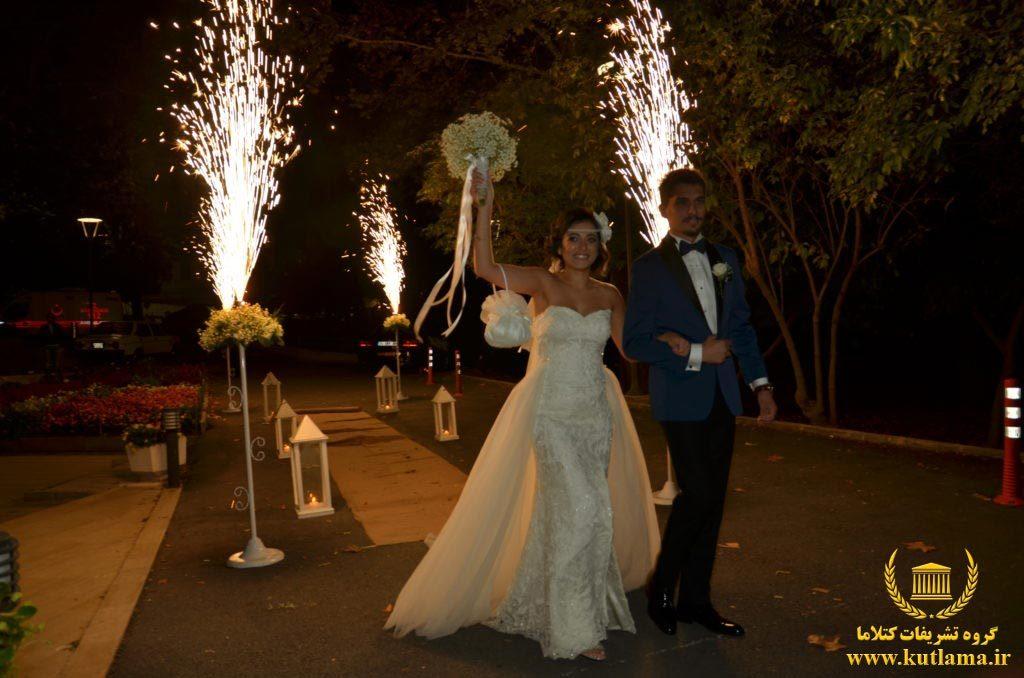 اجرای جشن عروسی در ترکیه