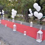 جشن عروسی در باغ تکسیم