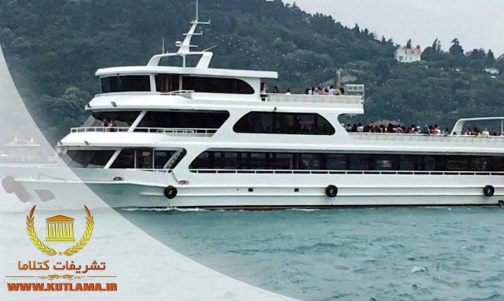 عروسی لوکس روی کشتی ترکیه