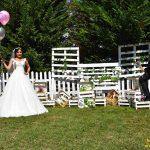 عکس عروسی در باغ استانبول