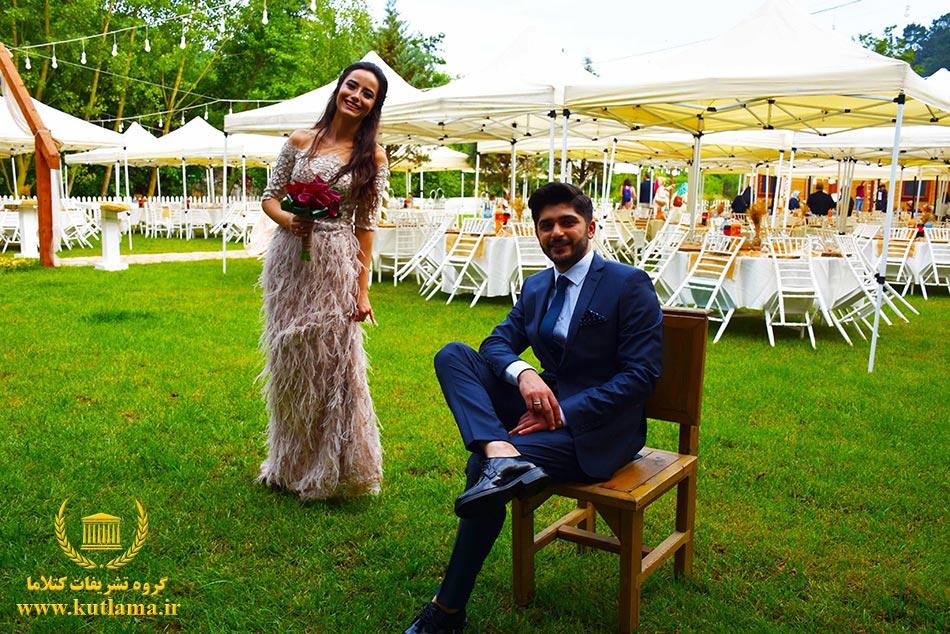 عروسی رویایی در استانبول ترکیه